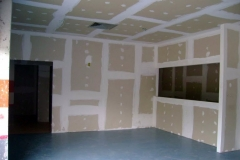 Parede Drywall Standard - cinza