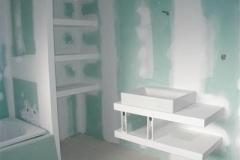 Parede Drywall Resistente a umidade - Verde
